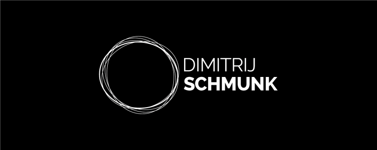 Logo Dimitrij Schmunk - Motion Design & Direction - Wort-Bildmarke - Alternative Variante II