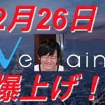 【仮想通貨】2018年2月26日VENリブランディング爆上げ!?