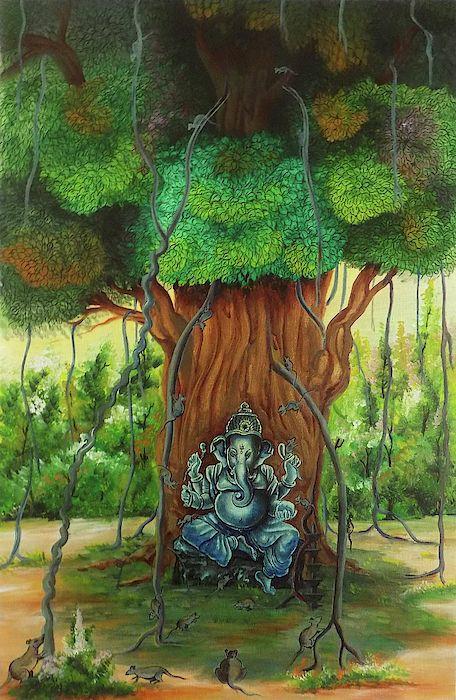 Kalpabata Ganesha – Inside Jagannath Temple – Batta Ganesha