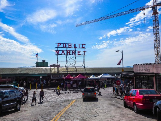 Seattle, Pike Public Market