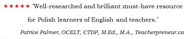 I Have Twenty Fingers: ...and 159 other common Polish-English Errors, by Matt Purland - quote 2
