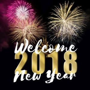 New Year's resolutions podcast and worksheet 2018