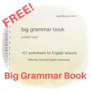 Free Big Grammar Book by Matt Purland