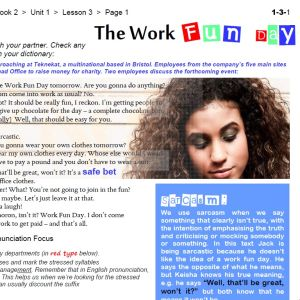 The Work Fun Day - FREE Worksheet Pack