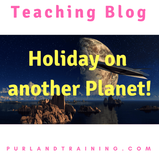 Teaching Blog: 3018 - Holiday on another Planet