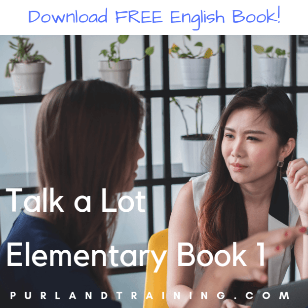FREE Talk a Lot Elementary Book 1 for ESOL Lessons by Matt Purland