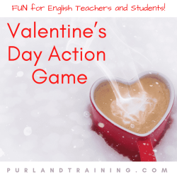 Valentine's Day Action Game