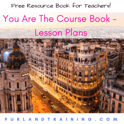 FREE ELT BOOK - You Are The Course Book - Lesson Plans