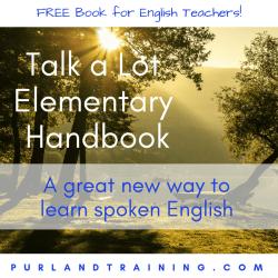 FREE Talk a Lot Elementary Handbook – by Matt Purland