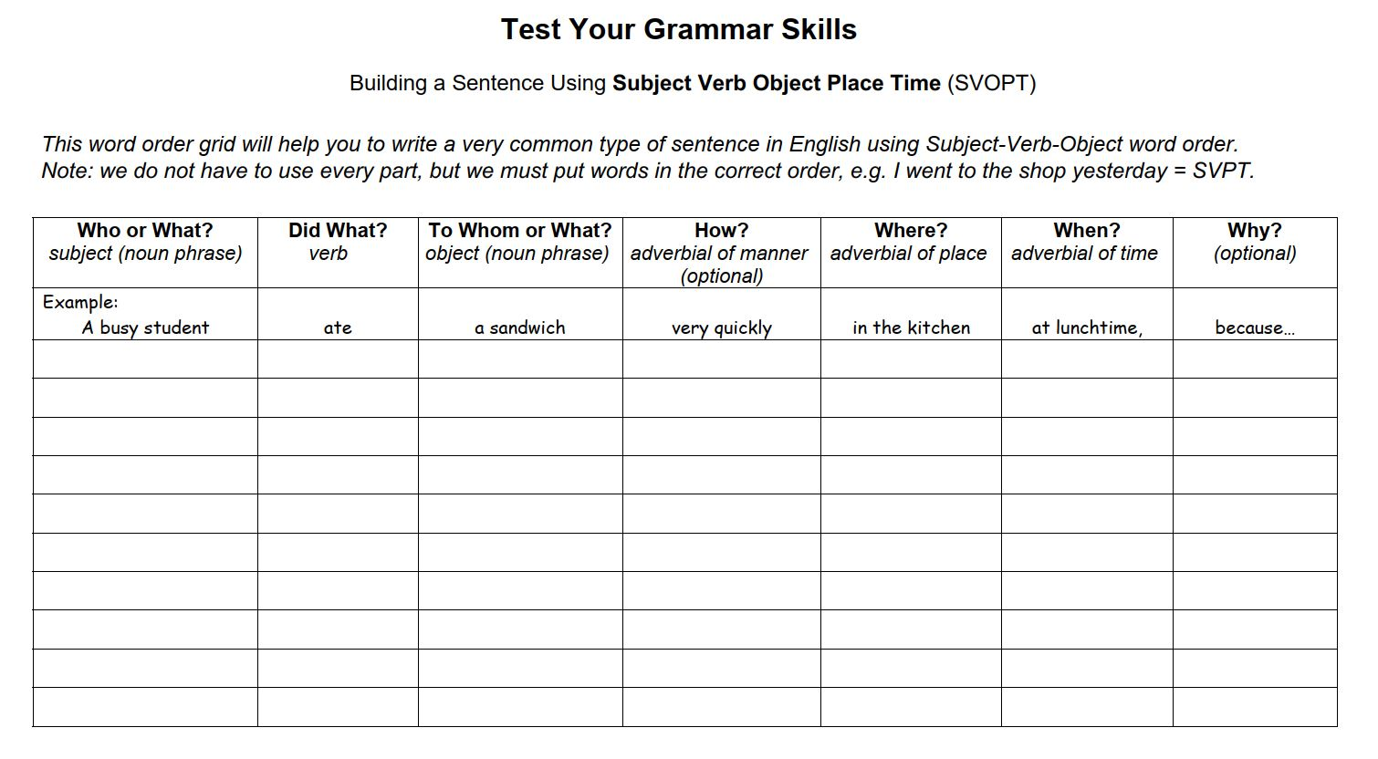 Lesson 6.4 Adverbs – ExercisesPurlandTraining.comLearn English for free! [ 832 x 1510 Pixel ]