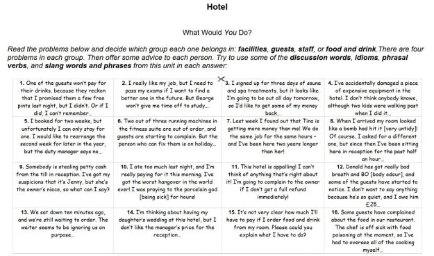 What Would You Do? - Hotel