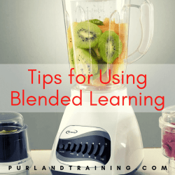 Tips For Implementing Blended Learning (Infographic)