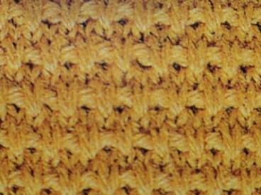 Speckled Rib Stitch