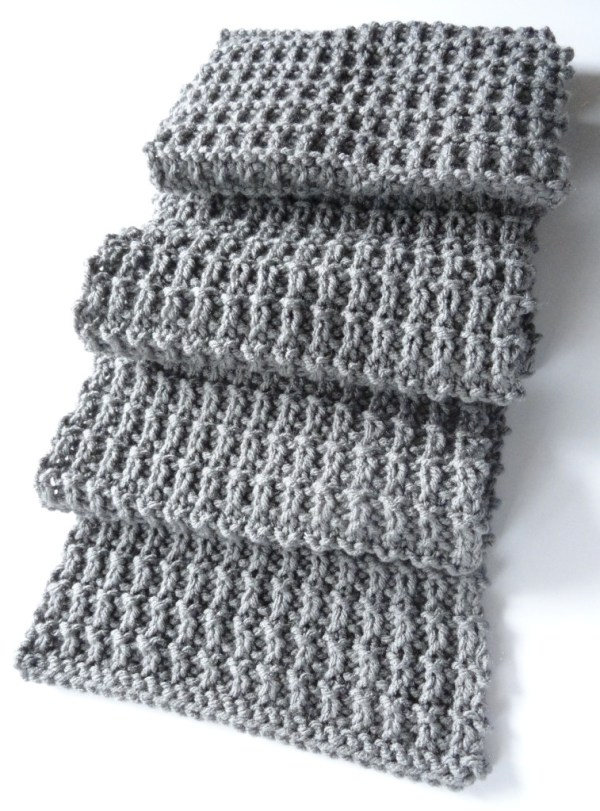 Ridge Rib Men Scarf 2 - Purl Avenue