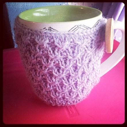 diagonal knot cozy