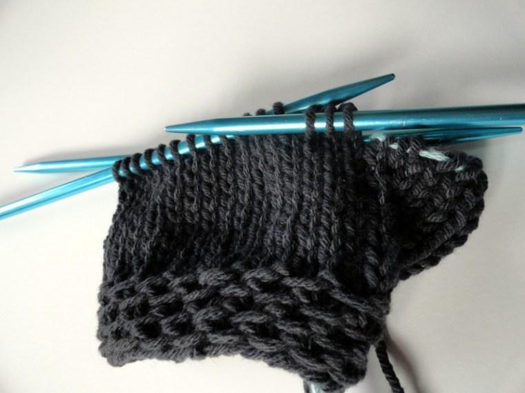 Easy Fingerless Glvoes Knit