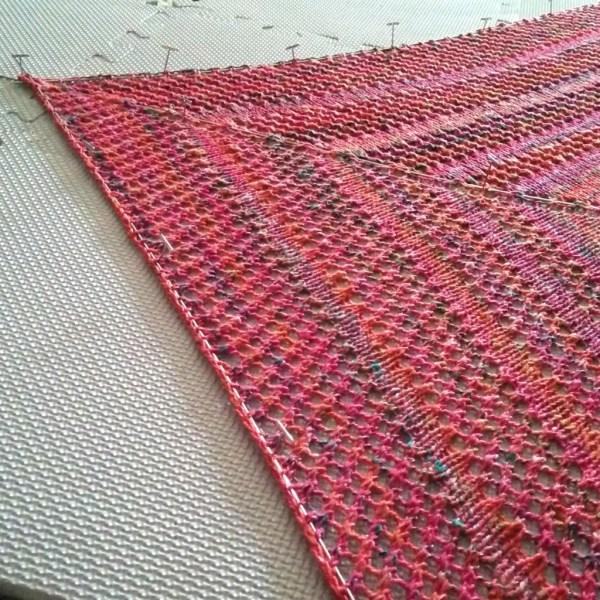 Casual Lace Knit Shawl 4 - Purl Avenue