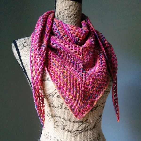 Causal Lace Knit Shawl 2 - Purl Avenue