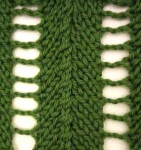 Chevron Lace Stitch