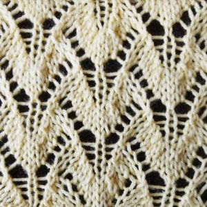 Winged Lace Stitch - Purl Avenue