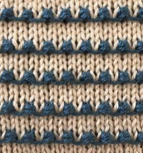 Tiny Bobbles Stitch II