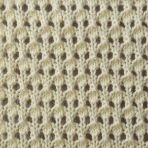 Speckled Lace Knit Stitch