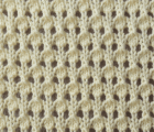 Speckled Lace Knit Stitch