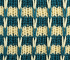 Striped Slip Knit Stitch