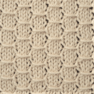 Hexagon Knit Stitch