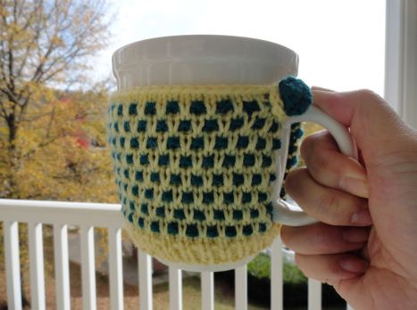 Speckled Slip Stitch Cup Cozy