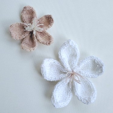 Knitted Cherry Blossoms