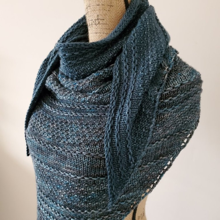 Riley Triangle Shawl