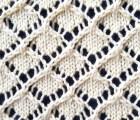 Brocade Lace Knit Stitch