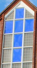 Blue Cross - Purley Youth Centre Window