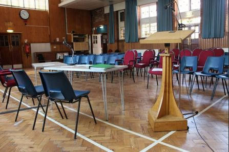 The Church Hall - capacity 140 people