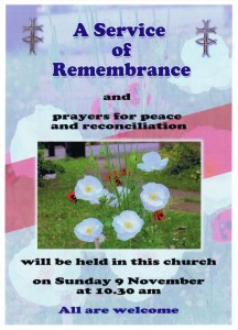 Remembrance Service - November 2014 - version 1