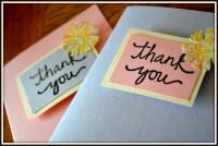 DIY Thank You Cards | P.O.K.O
