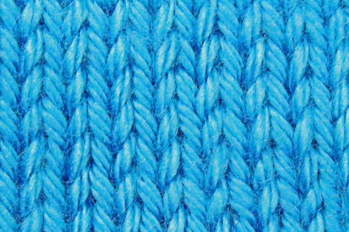 Learn to Knit, Step 8: Blocking your Knits, stockinette stitch