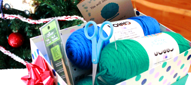 DIY Learn to Knit Gift Set for Beginner Knitters