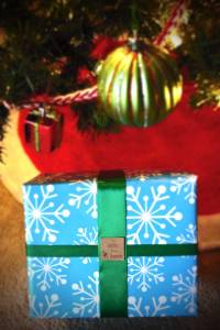 """Printable """"from Santa"""" gift tags from PurlsAndPixels"""