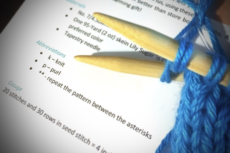 Reading Knitting Patterns, a knitting lesson from ...