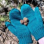 Basic mitten knitting pattern by Liz Chandler @PurlsAndPixels.