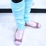 Leg warmer knitting pattern, designed by Liz Chandler @PurlsAndPixels