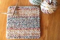 Cherry Candy Cane Potholder Easy Knitting Pattern from Liz ...