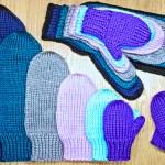 Basic mitten knitting pattern from Liz Chandler @PurlsAndPixels.