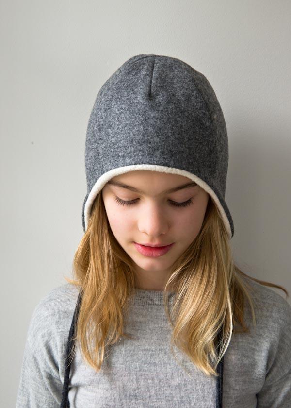 Fleece Hat With Ear Flaps : fleece, flaps, Cotton