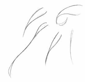 Как рисовать аниме-волосы