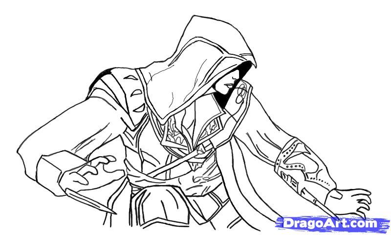 Ezio Coloring