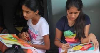 Chandni G and Anaya D
