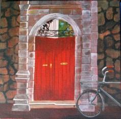 Pervin-Door-Red